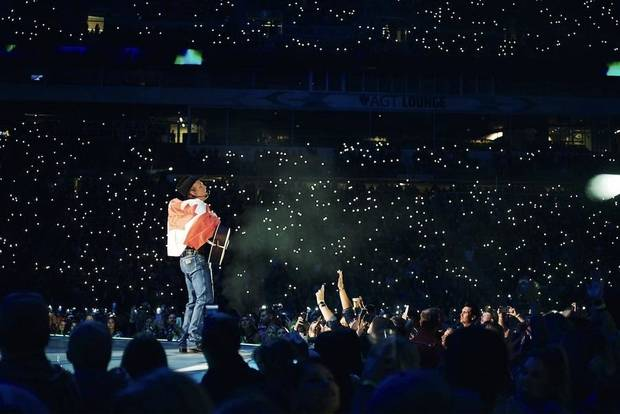 "Country Music Hall of Famer and Oklahoma native Garth Brooks played two shows over the weekend in Regina, Saskatchewan, Canada, on ""The Garth Brooks Stadium Tour."" [Photo provided]"