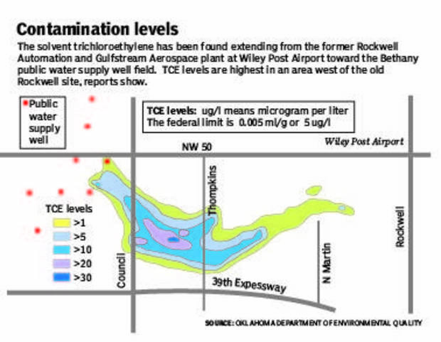 Groundwater pollution case pits Bethany against aerospace companies