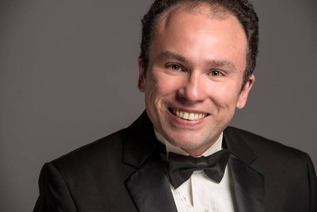 "World-renowned Oklahoma City-based pianist Sergio Monteiro will perform ""Brahms Requiem"" Nov. 1 with Canterbury Voices. [Photo provided]"