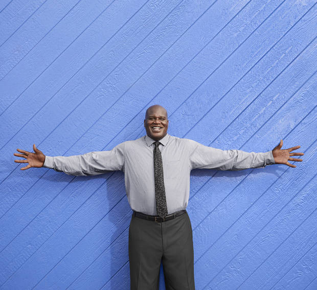Shaquille O'Neal has teamed with Penney's for a new big & tall line.