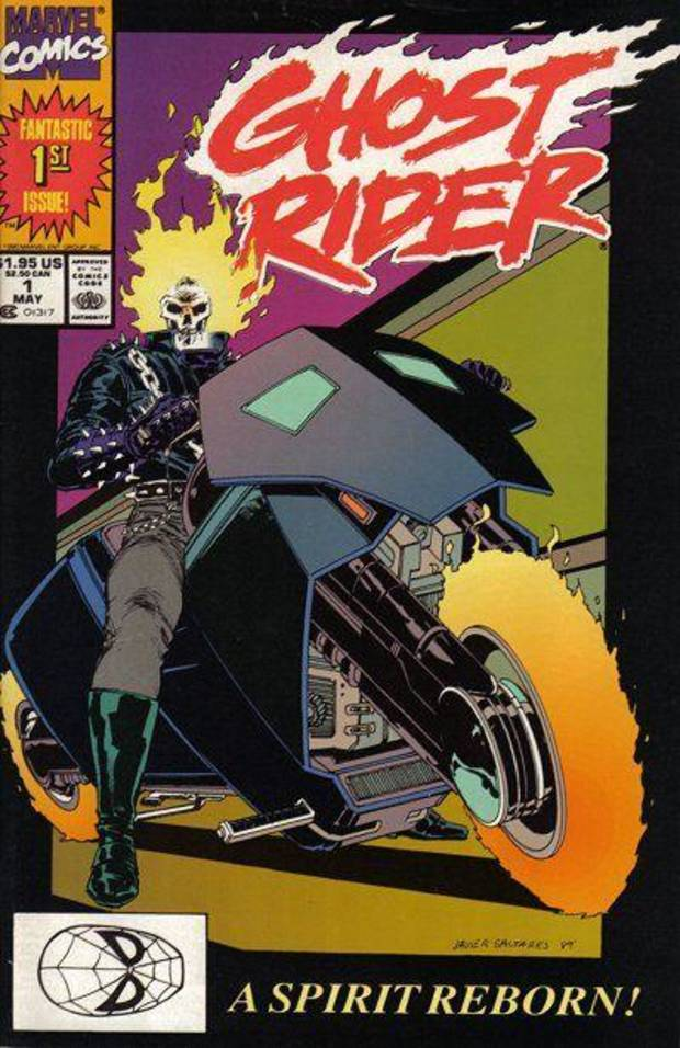 Ghost Rider #1 (1990) from Marvel Comics