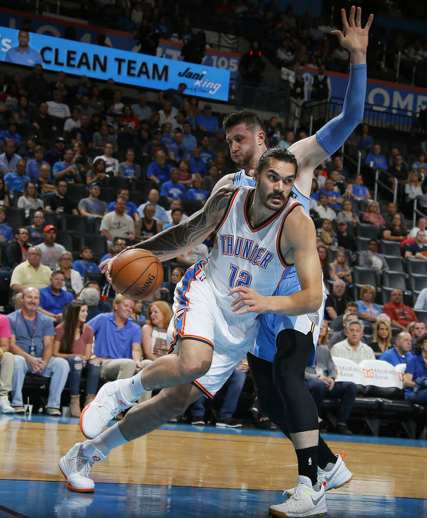 Steven Adams Rising Up The Rankings In The NBA