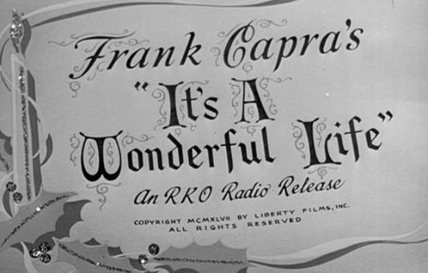 photo - It's a Wonderful Life directed by Frank Capra, 1946.