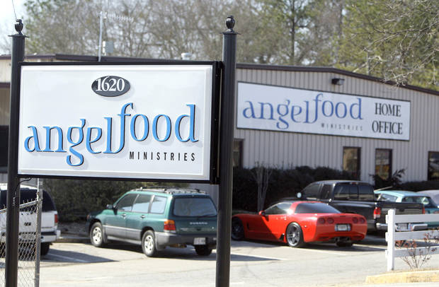 photo - The offices of Angel Food Ministries in Monroe, Ga., are shown March 5. A recent FBI raid at the ministry's headquarters raised troubling accusations of excessive salaries and possible financial mismanagement at the nonprofit. Some observers say the alleged problems could cost Angel Food its tax-exempt status and possibly result in federal charges. AP PHOTO