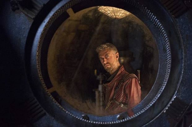 "Sean Gunn appears in ""Guardians of the Galaxy Vol. 2."" Gunn co-stars in the prolific Oklahoma filmmaker Mickey Reece's latest horror film, ""Agnes."" [Marvel Studios photo]"