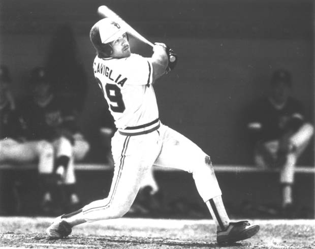 photo - Pete Incaviglia, OSU baseball player (Photo originally taken 04/21/85)