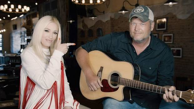 "Gwen Stefani and Blake Shelton will appear on Thursday's ""Red Nose Day Special."" [NBC photo]"