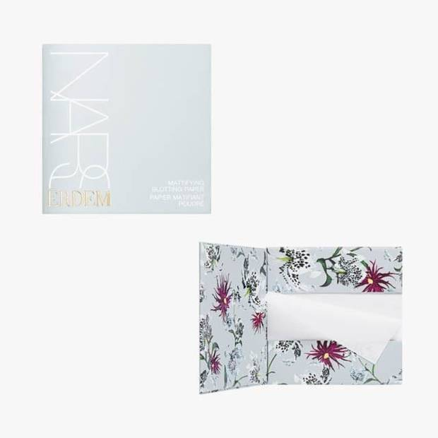 Erdem x NARS blotting papers