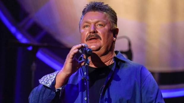 Joe Diffie performs at the 12th Annual ACM Honors at the Ryman Auditorium on Wednesday, Aug. 22, 2018 in Nashville, Tenn. [Photo by Al Wagner/Invision/AP]