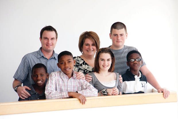 photo - The Lenhart family. Photo provided