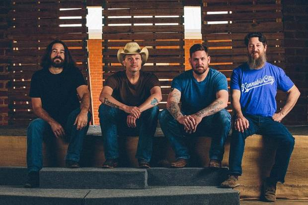 "Red dirt music standard-bearers Jason Boland & The Stragglers will release their ninth studio album ""Hard Times Are Relative"" May 18 via Thirty Tigers. [Photo by Cameron L. Gott Photography]"