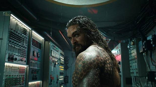 "Jason Momoa appears in ""Aquaman."" [Warner Bros. Pictures photo]"