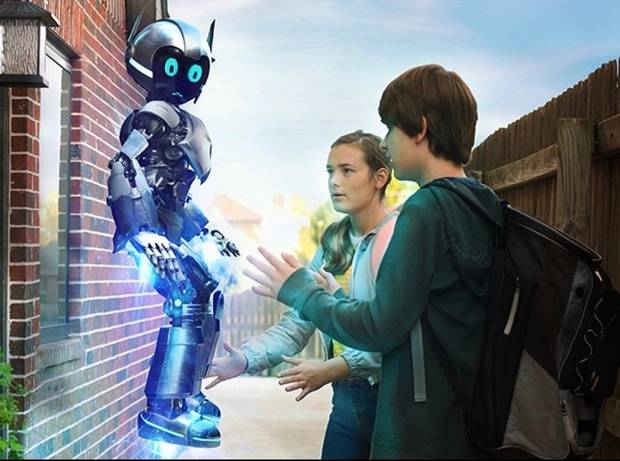 "Jude Manley and Sophia Alongi star in ""The Adventures of A.R.I. My Robot Friend."" [ACE Entertainment photo]"