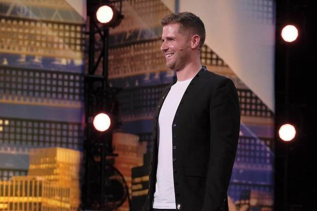 "Norman-based illusionist Rob Lake auditions for ""America's Got Talent"" Season 13 in the episode that aired June 26, 2018, on NBC. [Photo by Trae Patton/NBC]"
