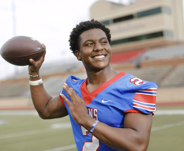 Super 30 athlete Daniel Hishaw Jr., Moore High School. Photograph taken Wednesday, Jun. 19, 2019. [Jim Beckel/The Oklahoman]