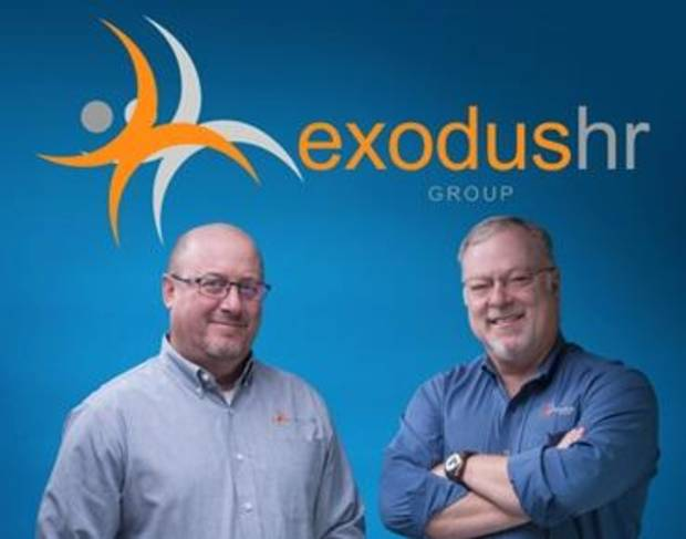 Exodus HR Group was founded by Mike Edmonds and Mike Robinson who jointly have over 30 years of experience in the payroll and HR outsourcing industry. Photo provided.
