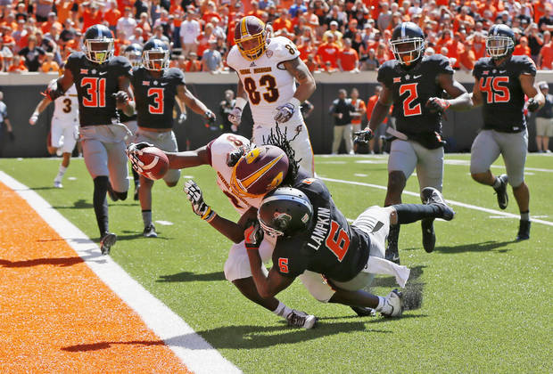 Oklahoma State Cowboys v. Pittsburgh Panthers football game today