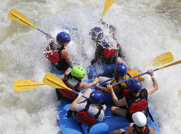 RIVERSPORT Rapids is celebrating Labor Day weekend with live music, whitewater rafting and adventures beginning Saturday, Sep. 3, and concluding on Labor Day, Sep. 5, 2016.  RIVERSPORT Rapids and Adventures will be open Saturday through Monday with All Access passes, which include rafting, available for $49. Rafting spots can be reserved in advance online for $5. Tubing will also be available during the weekend at 2 and 6 p.m. Adventure passes, which exclude rafting and the Sky Zip, are available for $39. Live bands perform on stage at Rotary Point beginning at 1 p.m. on Saturday.  Big Water Grill will be open all weekend , serving sandwiches, nachos, burgers and beverages.
