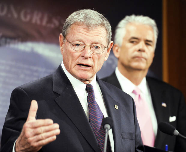photo - Sen. James Inhofe Tulsa Republican