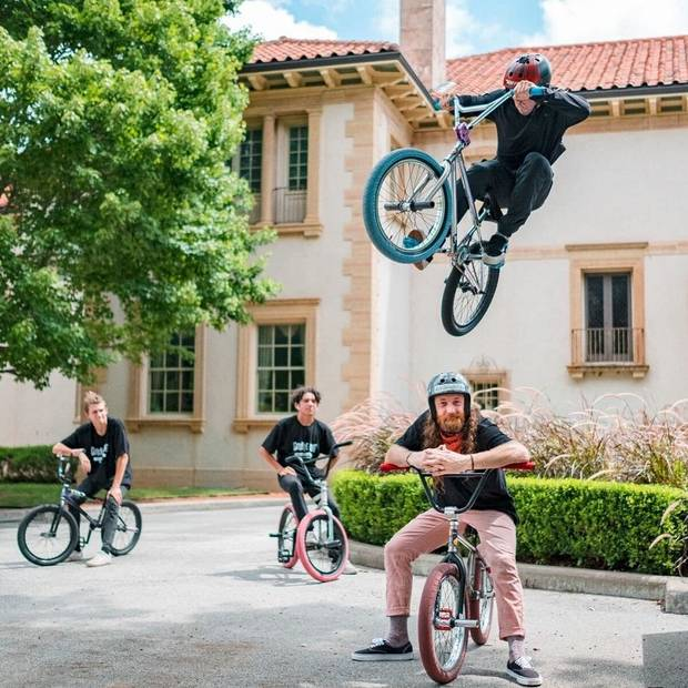 "Tulsa's Philbrook Museum of Art is offering ""Bikes, Bites, and Beers: An Evening with USA BMX"" Friday. [Photo provided]"