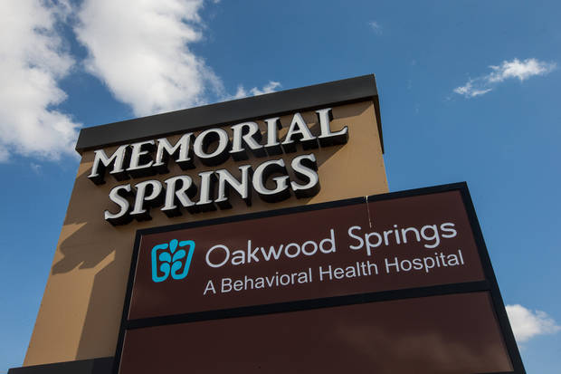 Oakwood Springs is a new Oklahoma City adult treatment center. Photo provided by Oakwood Springs.