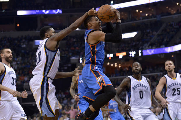 Thunder Has Win Streak On The Line In Memphis