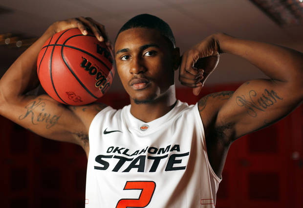photo - COLLEGE BASKETBALL: OSU men's basketball player Le'Bryan Nash (2) poses for a portrait at Oklahoma State University in Stillwater, Okla., Thursday, Oct. 27, 2011.  Photo by Nate Billings, The Oklahoman
