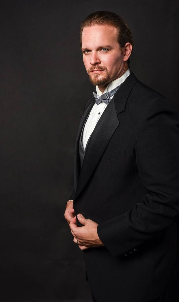 "Grammy winner Gabriel Preisser will be one of the soloists for Canterbury Voices' Nov. 1 performance of ""Brahms Requiem."" [Photo provided]"