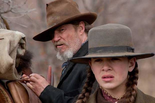 "Jeff Bridges, left, and Hailee Steinfeld star in the 2010 film ""True Grit."" [Paramount Pictures photo]"