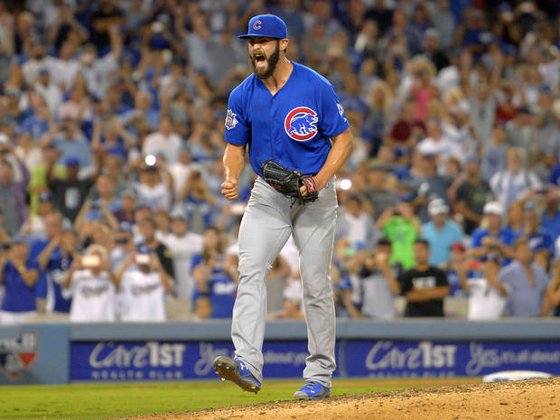 Cubs' Jake Arrieta throws no-hitter against Dodgers