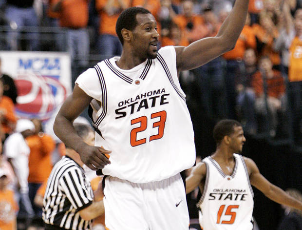 photo - After his OSU career, Ivan McFarlin appeared in 11 games for Philadelphia in 2006-07, but spent most of his professional career overseas in places such as Bolivia, Australia, France, Japan and Israel.