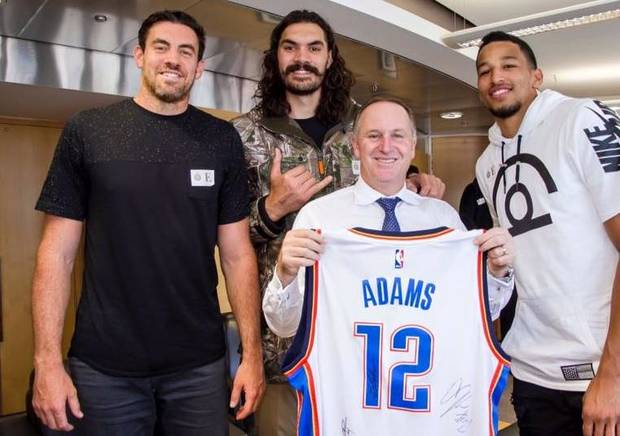 Thunder journal: Steven Adams, Thunder visit Prime Minister of New Zealand