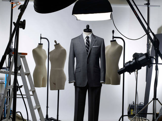 "The ""Mad Men Edition"" suit from Brooks  Brothers"