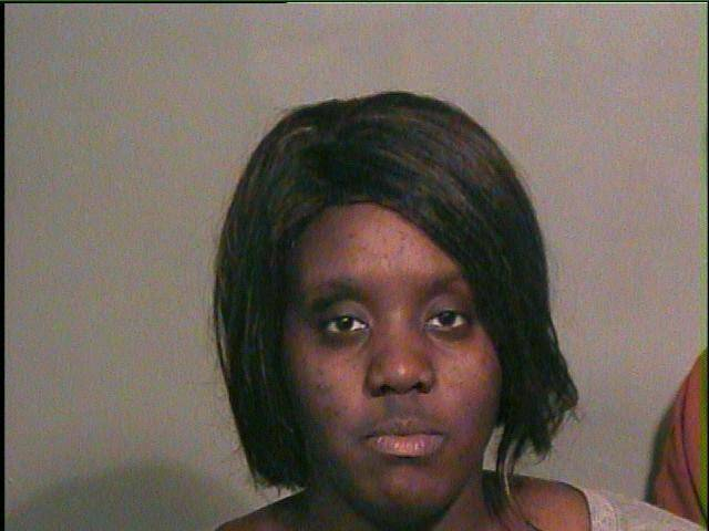 Dinesha Neal, 23, was arrested on a complaint of destruction of property on Tuesday after she admitted to smashing her neighbor's window with a hammer in the 2100 block of Kelham Avenue. PHOTO PROVIDED <strong>Courtesy</strong>