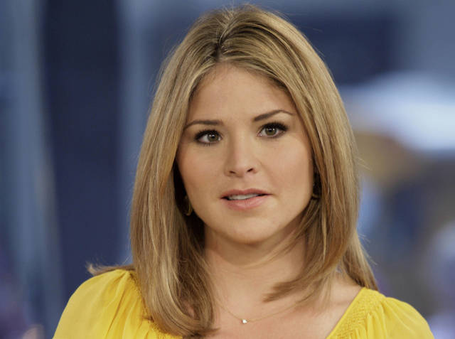 "FILE - In this Oct. 8, 2009 file photo, Jenna Bush Hager, special contributor for the NBC ""Today"" television program, appears on the show in New York.  Former first daughter Jenna Bush Hager announced Wednesday, Dec. 12, 2012,  that she's pregnant with her first child, due in the spring. The 31-year-old made the announcement on NBC's �Today� show, where she is a contributing correspondent. Hager, the twin daughter of former President George W. Bush, and her husband, Henry, have been married for four years. (AP Photo/Richard Drew)"