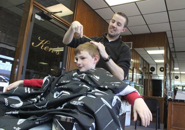 Barber House Calls : ... house calls for families who have children with special needs. [PHOTO
