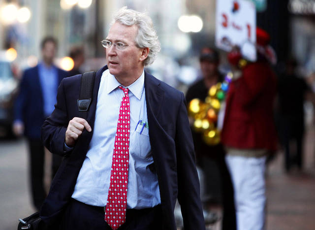 Chesapeake Energy Corp. CEO Aubrey McClendon walks March 26 through the French Quarter in New Orleans. REUTERS PHOTO <strong>REUTERS</strong>