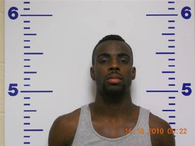 Chesley Griffin, 22, of Grand Prairie, Texas, who is accused of assault and battery with a dangerous weapon in connection with a shooting at Langston University on Thursday.  <strong></strong>