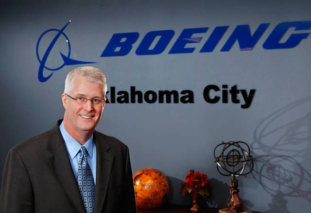 Mike Emmelhainz,  site director for   Boeing Oklahoma City,  6001 S Air Depot.   He was photographed in the Oklahoma City office Thursday Jan. 5, 2012.   Photo by Jim Beckel, The Oklahoman