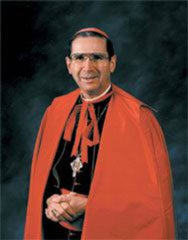 Cardinal Roger Mahoney Photo provided <strong></strong>