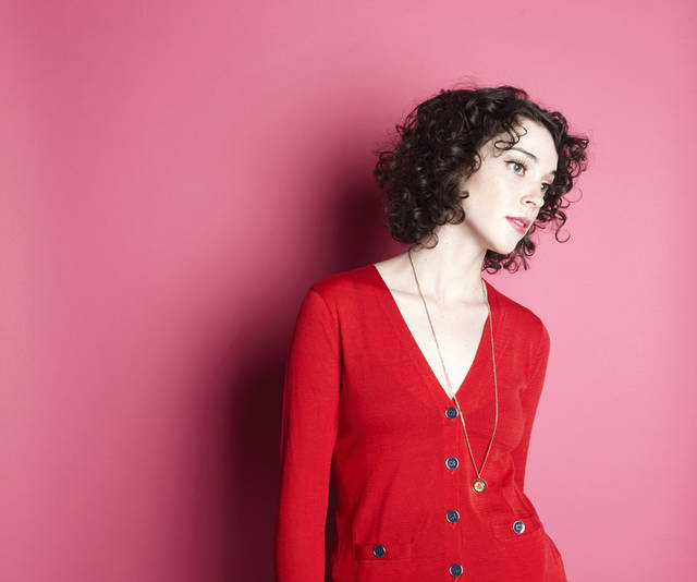 Tulsa-born singer/songwriter/guitarist St. Vincent will perform at the 2012 Bonnaroo Music and Arts Festival. Photo provided