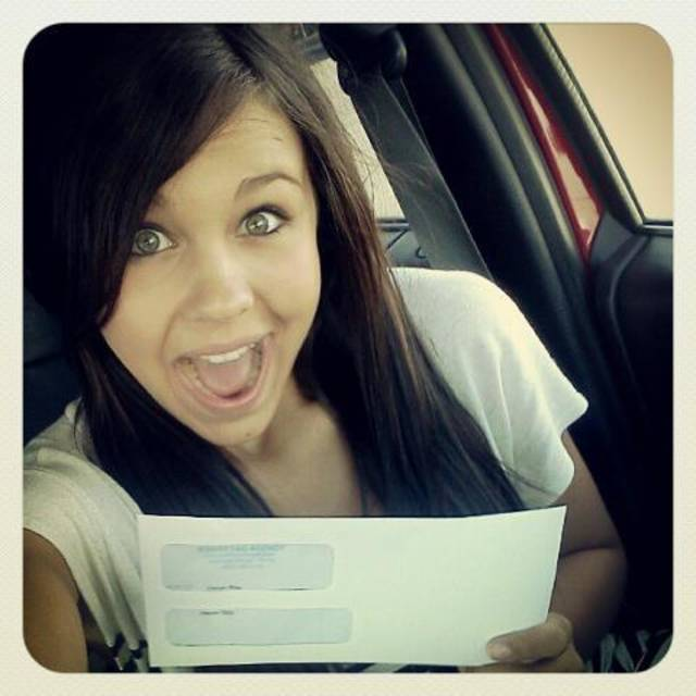 First Paycheck!