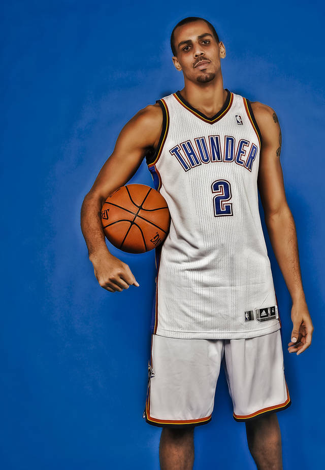 NBA BASKETBALL: Thabo Sefolosha during the Oklahoma City Thunder media day at the Chesapeake Energy Arena in Oklahoma City, Okla. on Tuesday, Dec. 13, 2011. Photo by Chris Landsberger, The Oklahoman