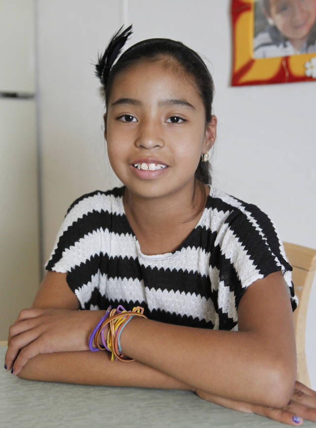 "Truman Elementary fifth-grader Erika Ramirez needs a kidney transplant. A ""Skate for Erika"" fundraiser will be from 10 a.m. to noon Saturday at Star Skate, 2020 W Lindsey St. in Norman. Photo By David McDaniel, The Oklahoman Archives <strong>David McDaniel - The Oklahoman</strong>"