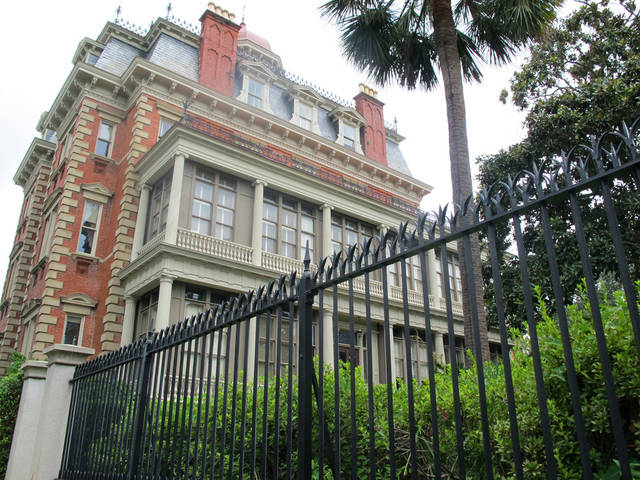 The Wentworth Mansion in Charleston, S.C., is seen, Thursday, Aug. 23, 2012. Operators of the Wentworth and other historic hotels in the region say business has bounced back sharply after the Great Recession. (AP Photo/Bruce Smith).