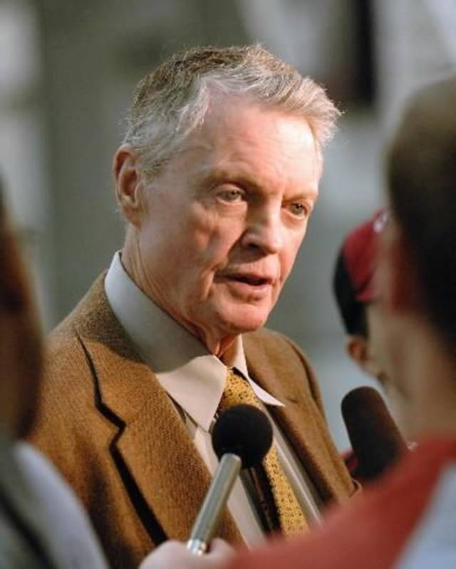 University of Nebraska athletic director Tom  Osborne in Lincoln, Neb. (AP Photo/Bill Wolf)