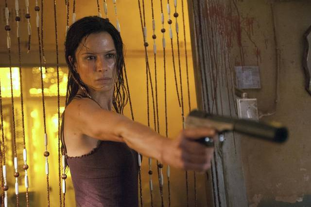 """Strike Back"": Rhona Mitra. Photo by Liam Daniel/Courtesy of HBO"