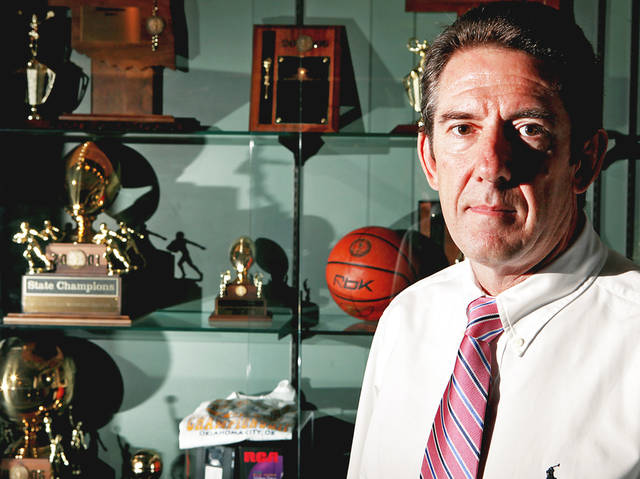 There's been a lot going on with the Oklahoma Secondary Schools Athletic Association this year, including the hiring of Ed Sheakley as executive secretary and the forfeiting of games by many football teams. Photo by John Clanton, The Oklahoman