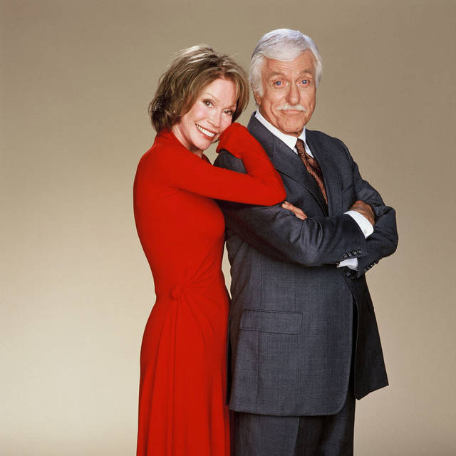 Mary Tyler Moore and Dick Van Dyke, actors