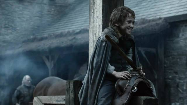 Rickon Stark, the character even Martin seems to forget about.
